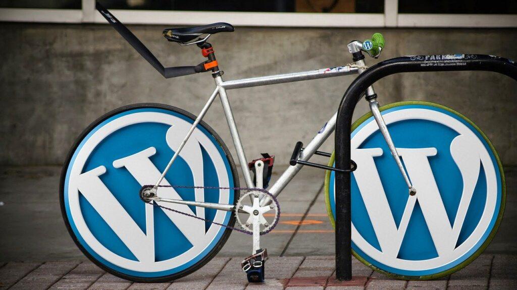 ワードプレス仕様の自転車