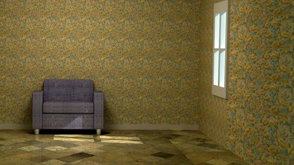 ソファーだけの部屋