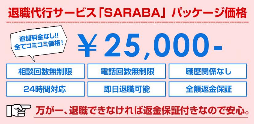 退職代行サラバ25,000円