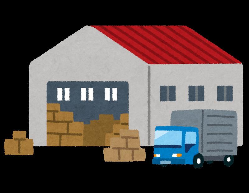 倉庫の仕事